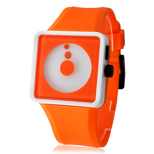 Buy Free shipping unisex Two-Dot Dial orange jelly sports silicone watches  rubber strap military watches children watches girl in Cheap Price on m.alibaba.  ... 5a6033b4c344
