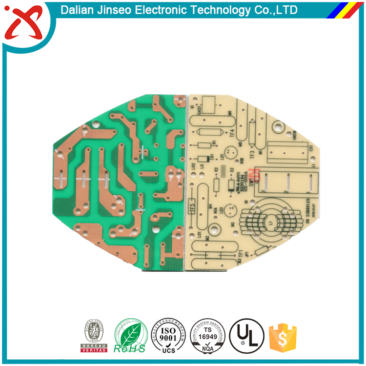 Electronic multilayer aluminum ceramic pcb prototype