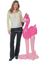 <span class=keywords><strong>Walmart</strong></span> inflable de color rosa niños juguete flamingo