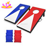 Top fashion outdoor entertainment bean bag toss wooden corn hole game W01A205