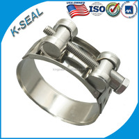 heavy duty corrugated pipe hose clamp