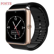 GT08 Camera Smartwatch Sport Bluetooth <strong>Smart</strong> <strong>Watch</strong> With Touch Screen Support TF Sim Card For IOS iPhone Android Phone