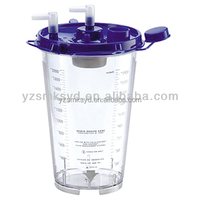 Vacuum Bottle For Aspirator Suction Canister