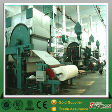 China manufacturer jumbo roll small scale toilet paper making machine for sale