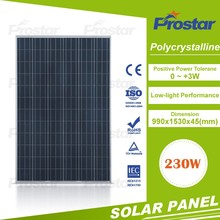 high quality pv poly 230w panel solar system for home use Mono Solar Module