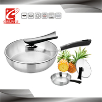 New product stainless steel food pan with bakelite handles for cookware
