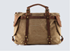 high quality and vintage retro canvas real genuine leather weekend bag , canvas weekender duffle bag ,waxed canvas travel bag