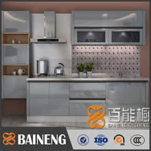 high gloss lacquer finish small kitchen cabinets/apartment kitchen cabinet with wholesale kitchen cabinet price