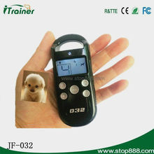 350m remote pet training collar with lcd display with Vibration and Shock