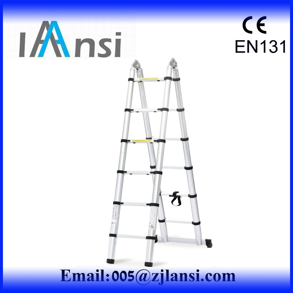 as seen on tv 2016 11 step multifunction foldable aluminum lidl ladder