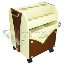 Beauty trolley hair salon furniture used nail salon furniture F-2792FX