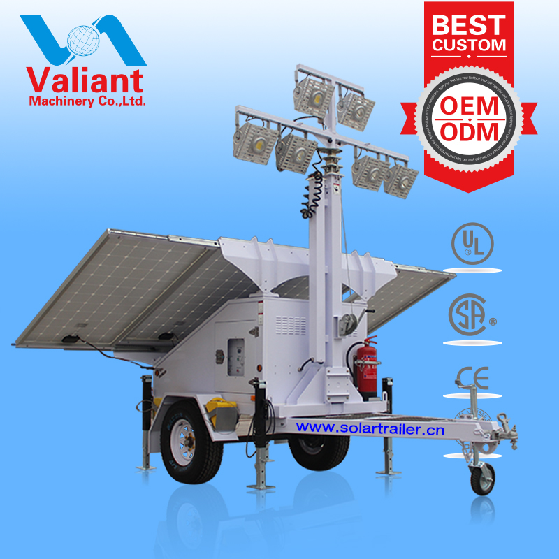 High lumen efficacy used light towers for sale alberta for night lighting