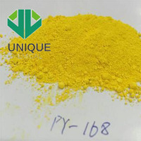 HOT SALE YELLOW 168 COLOR PIGMENT POWDER PLASTIC PIGMENT