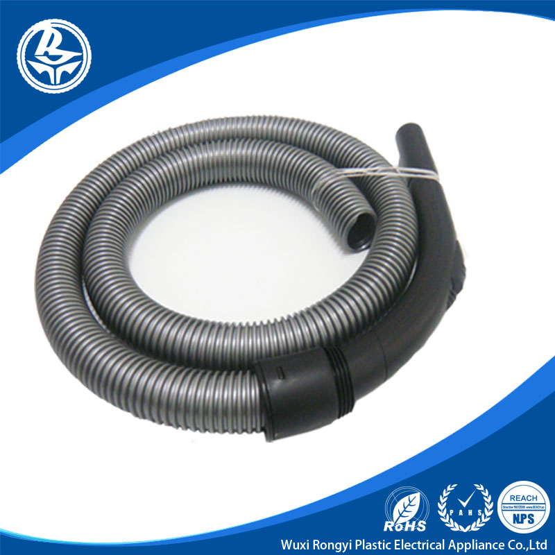 industrial vacuum cleaner hose connected with short connector and long connector