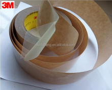 3M 9731 double coated silicone adhesive tape, silicone and acrylic adhesive both coated on each side of a polyester film carrier