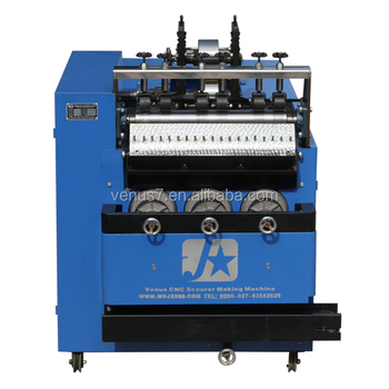 JX-A6Automatic stainless steel and galvanized wire mesh scourer machine made in China