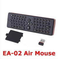 2.4GHz Wireless Gyro EA-02 Fly Air Mouse Qwerty Keyboard For Android IP TV Box/ DVB/Smart TV/ PC
