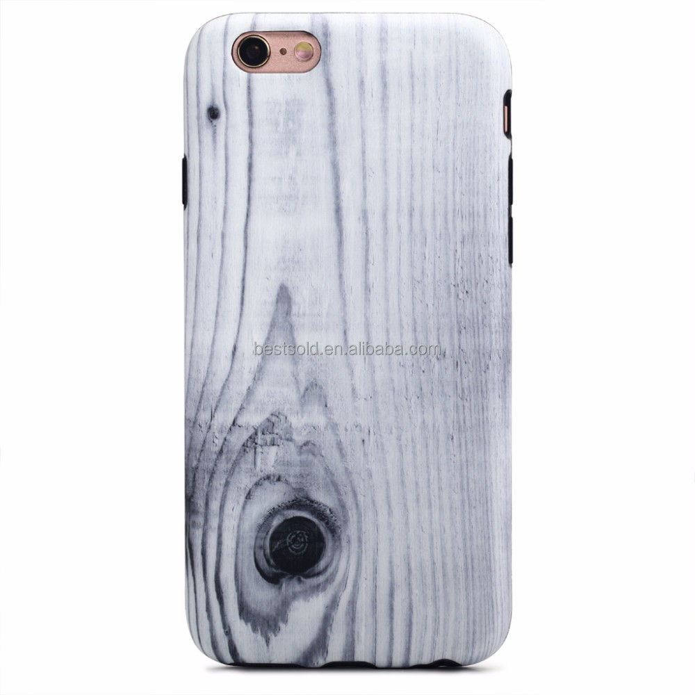 IMD Full Cover phone case For iPhone Case 6 Wood Bamboo, wood phone case for iphone 6