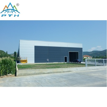 America modern light steel structure building prefab house