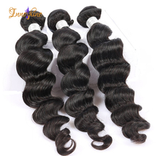 Top quality brazilian loose deep wave hair weave remy human hair loose wave bundles