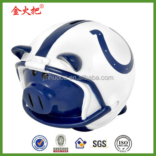 Top quality promotional resin piggy bank atm