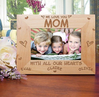 new arrival simple design photo frame of leaf shape