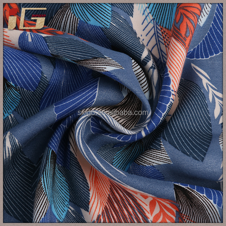 Good price of fashionable creative design polyester rayon spandex fabric for sale