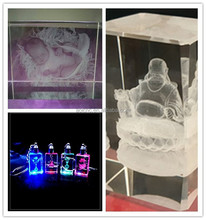 3d photo crystal laser engraving machine for sale