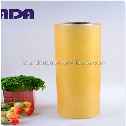 China plastic core stretch film with self adhesive