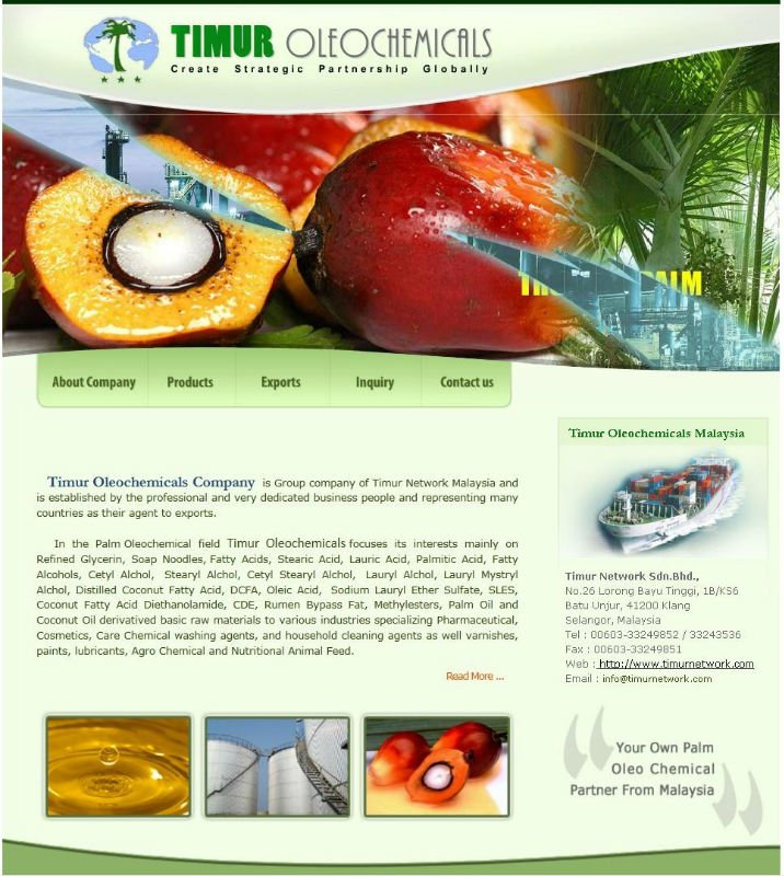 Palm Oil Methyl Ester