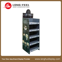 Daily Necessities cardboard folding counter advertising standee