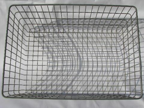 factory direct sell cheap custom design durable mesh wire storage basket