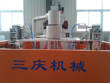 plastic pipe making machine from Hebei Sanqing blow molding machine company