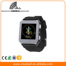 Cheap Fashion Design Stainless Steel Smart Watch With Heart Rate Monitor And Pedometer