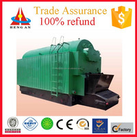 factory price traveling grate automatic high efficiency coal / wood fired steam boiler for packing and stick industry