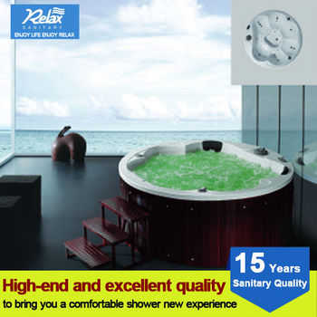 2017 best selling Relax modern poland outdoor tub hot tub