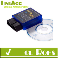 Linkacc-Th160 ELM327 Bluetooth Scan Tool OBD2 OBDII Scanner for TORQUE APP ANDROID