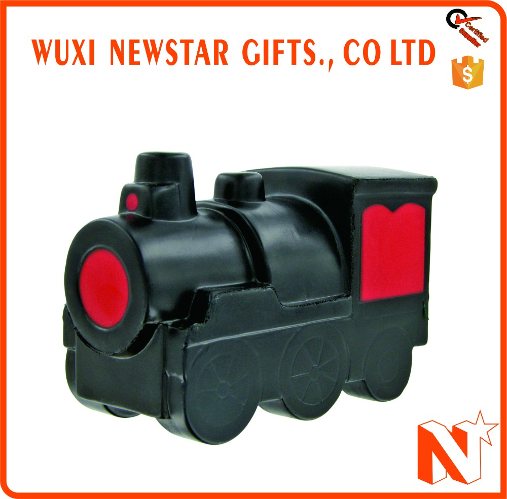 Promotional Customized Logo Train Engine Stress Ball