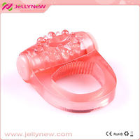 JNC-01006 Amazing sex penis cock ring vibrator & new arrival silicone penis ring