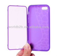 Footprint Wave PC+TPU soft Protective Case Cover for iPhone 5C