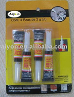 good quality 3g cyanoacrylate Super glue /super adhesive
