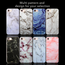 Hot sale colorful IMD natural marble Phone Case for iPhone x, 6, 7,6plus ,8 plus case