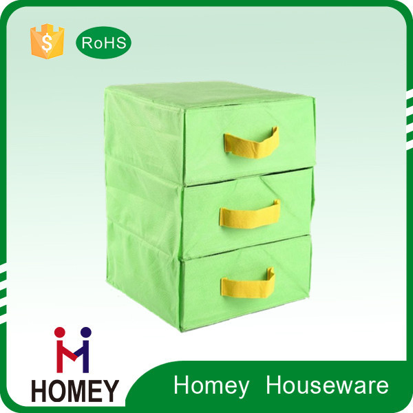 2015 new non woven fabric small parts storage decorative storage box
