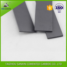 Premium K10 cemented carbide square bar, flat, tungsten carbide strips for cutting tools
