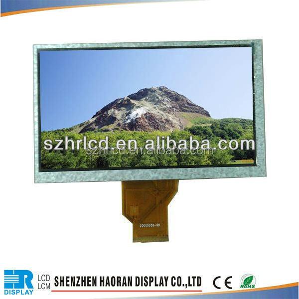 custom made lcd display 50PIN 7 inch 800RGB x 480