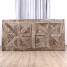 Restaurant rustic dining wood table top
