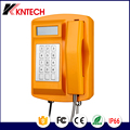 SMC waterproof dustproof Telephone with LCD for railway bus station