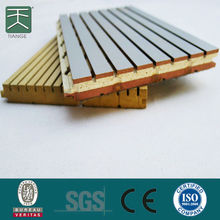 Gypsum Bonded Wood Particle Board As Acoustic Ceiling Board