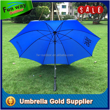 Large size blue color 3 person long pole umbrella