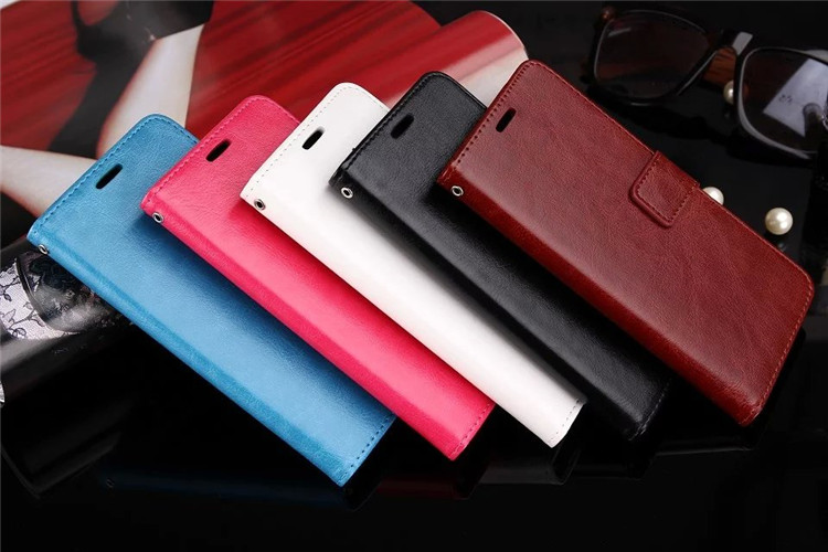 TPU soft inner shell Flip Leather cover with card slot Mobile Phone case for Samsung Galaxy S4